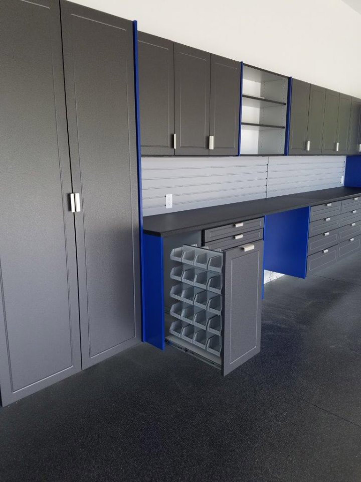 Pewter Garage Cabinets Indianapolis IN